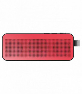 Bluetooth nešiojamas garsiakalbis Sponge BoomChick raudonas