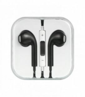 Laisvų rankų įranga Apple iPhone 5G/5S/5C/6/6 Plus juoda HQ