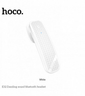 Belaidė laisvų rankų įranga HOCO E32 balta