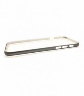 "Dėklas ""Select Metal Bumper"" + TPU Apple iPhone 6/6S pilkas"