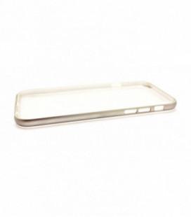 "Dėklas ""Select Metal Bumper"" + TPU Apple iPhone 6/6S sidabrinis"
