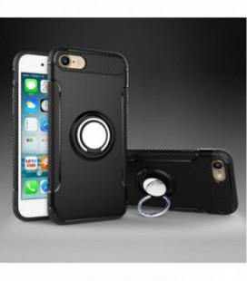 """Dėklas """"Bracket Ring"""" Apple iPhone 6/6S juodas"""