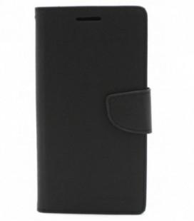"""Dėklas Mercury Goospery """"Fancy Diary"""" Apple iPhone 6/6S juodas/rudas"""