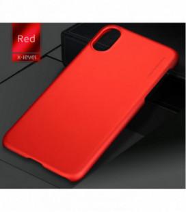 Dėklas X-Level Metallic Apple iPhone 6/6S raudonas
