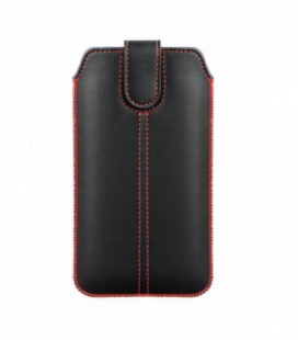 Dėklas Forcell Ultra Slim M4 iPhone 6 Plus/7 Plus/8 Plus/Mate 10 Lite XXXXL juodas