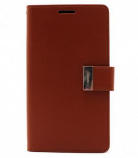 """Dėklas Mercury Goospery """"Rich Diary"""" Apple iPhone 6 Plus rudas/juodas"""