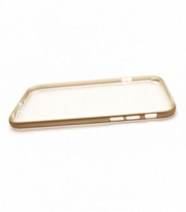 "Dėklas ""Select Metal Bumper"" + TPU Apple iPhone 6 Plus/6S Plus auksinis"