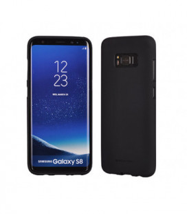 """Dėklas Mercury Goospery """"Soft Jelly Case (Hole)"""" Apple iPhone 6 Plus/6S Plus juodas"""