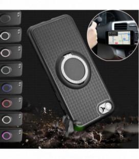 """Matinis juodas dėklas Samsung Galaxy S10 Plus telefonui """"Spigen Ultra Hybrid"""""""