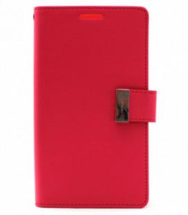 """Dėklas Mercury Goospery """"Rich Diary"""" Apple iPhone 6 Plus koralo spalvos/rožinis"""