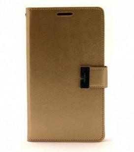 """Dėklas Mercury Goospery """"Rich Diary"""" Apple iPhone 7/8 auksinis/auksinis"""