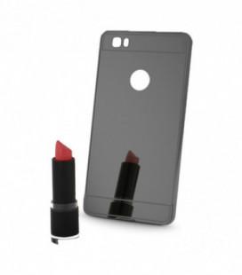 """Dėklas """"Metal Mirror Bumper"""" iPhone 7/8 sidabrinis"""