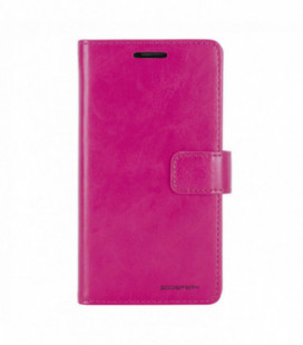 """Dėklas Mercury Goospery """"Blue Moon Diary"""" Apple iPhone 7/8 koralo spalvos"""