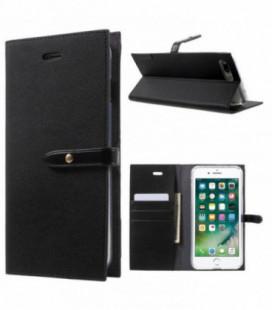 """Dėklas Mercury Goospery """"Romance Diary"""" Apple iPhone 7/8 juodas/juodas"""