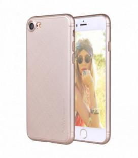 Dėklas X-Level Taiga Apple iPhone 7/8 rožinis-auksinis