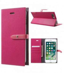 """Dėklas Mercury Goospery """"Romance Diary"""" Apple iPhone 7/8 koralo spalvos/rožinis"""