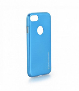 "Dėklas Mercury Goospery China ""iJelly Metal Hole"" Apple iPhone 7/8 mėlynas"