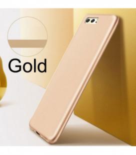 """Rausvai auksinės spalvos atverčiamas dėklas Apple iPhone XR telefonui """"Dux Ducis Skin"""""""