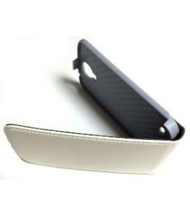 "Dėklas ""Leather case"" Samsung i9500/i9505 S4 juodas"