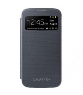 "Dėklas ""flip cover WINDOW"" Samsung i9500/i9505 S4 juodas"