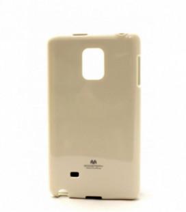 """Dėklas Mercury Goospery """"Jelly Case"""" Samsung G925 S6 Edge baltas"""