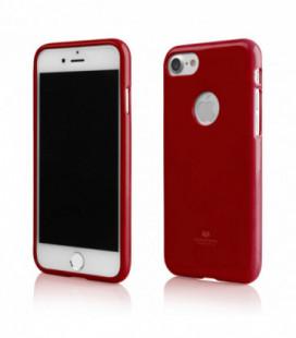 """Dėklas Mercury Goospery """"Jelly Case"""" Samsung G925 S6 Edge raudonas"""