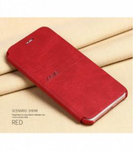 Dėklas X-Level Extreme Samsung G925 S6 Edge raudonas
