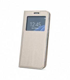 """Dėklas """"Smart Look"""" Samsung G925 S6 Edge auksinis"""