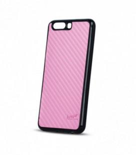 """Dėklas Beeyo """"Carbon"""" Samsung G950 S8 rožinis"""