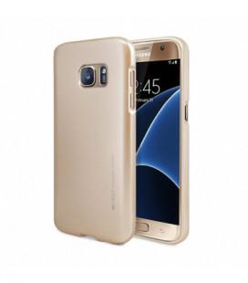"""Dėklas Mercury Goospery """"iJelly Metal"""" Samsung G950 S8 auksinis"""