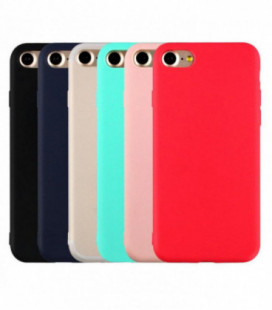 Dėklas Rubber TPU Samsung G950 S8 rožinis
