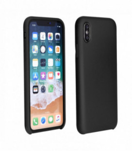 Dėklas Silicone Cover Apple iPhone XR juodas