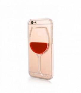 """Dėklas """"Wine Glass"""" Samsung A310 A3 2016 skaidrus"""