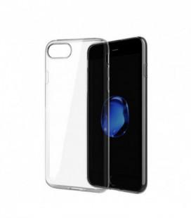Dėklas Ultra Slim 0,3mm Samsung A520 A5 2017 permatomas juodas