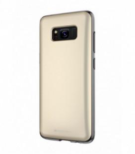 """Dėklas Mercury Goospery """"Hidden Card"""" Samsung A520 A5 2017 auksinis"""