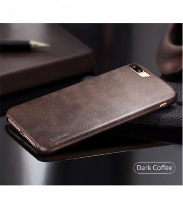 Dėklas X-Level Vintage Samsung A520 A5 2017 tamsiai rudas