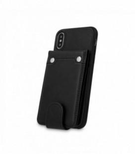 """Dėklas """"Pocket Case"""" Samsung A750 A7 2018 juodas"""