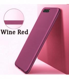 Dėklas X-Level Guardian Samsung A750 A7 2018 vyno raudona