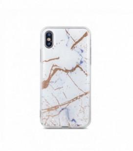"""5D Lenktas juodas apsauginis grūdintas stiklas Huawei P Smart 2019 telefonui """"Full Glue"""""""