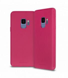 "Dėklas Mercury Goospery ""Style Lux"" Apple iPhone X/XS koralo spalvos"