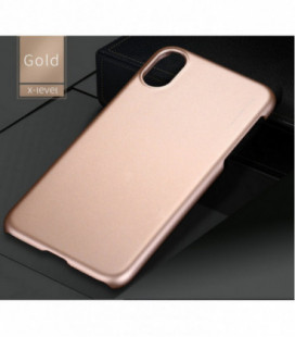Dėklas X-Level Metallic Apple iPhone X/XS auksinis
