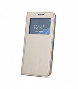 """Dėklas """"Smart Look"""" Huawei P30 Pro auksinis"""
