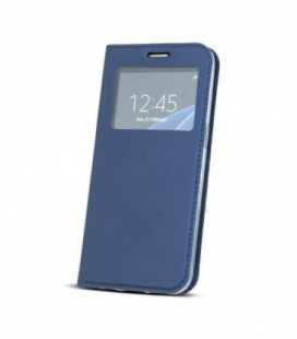 """Dėklas """"Smart Look"""" Huawei P30 Pro tamsiai mėlynas"""