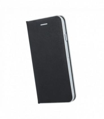 """Juodas atverčiamas dėklas Apple iPhone XR telefonui """"Baseus Touchable Case TG"""""""