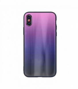 """Dėklas """"Aurora"""" Huawei P30 rožinis-juodas"""