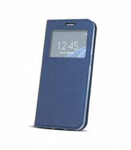 """Dėklas """"Smart Look"""" Huawei P30 tamsiai mėlynas"""
