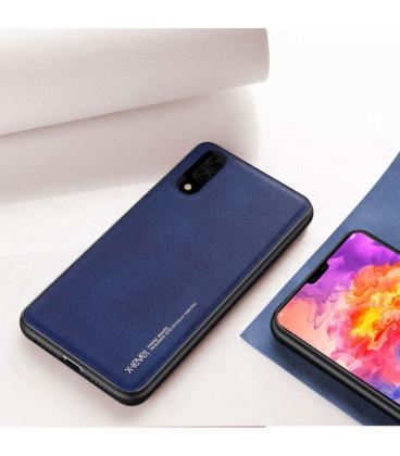 """Juodas atverčiamas dėklas Apple iPhone X/XS telefonui """"Baseus Touchable Case TG"""""""