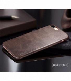 Dėklas X-Level Vintage Samsung J320 J3 2016 tamsiai rudas