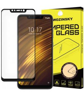 """Juodas apsauginis grūdintas stiklas Xiaomi Pocophone F1 telefonui """"Wozinsky Full Glue"""""""