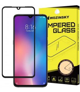 """Juodas apsauginis grūdintas stiklas Xiaomi Mi9 telefonui """"Wozinsky Full Glue"""""""